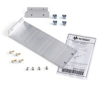 Keysight 34190A Rack mount flange with adapter kit, 88.1mmH (2U) - one flange bracket and adapter
