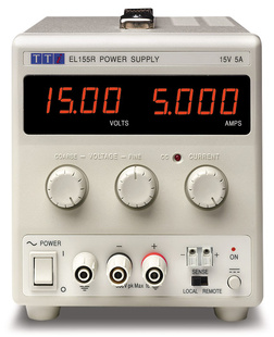 Aim-TTI EL561R Bench DC Power Supply, Linear Regulation, Analog Controls 56V/1.1A Single