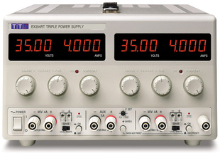 Aim-TTI EX354RT Bench DC Power Supply, Mixed-mode Regulation, Analog Controls 2 x 35V/4A plus 1.5-5V/5A Triple Output