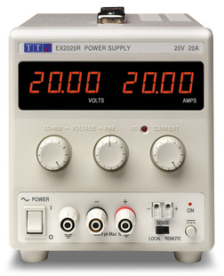 Aim-TTI EX355P Bench DC Power Supply, Mixed-mode Regulation, Analog Controls 35V/5A Single Output, RS-232