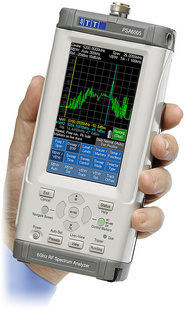 AIM-TTI_PSA6005USC Handheld RF Spectrum Analyzers 6.0GHz Spectrum Analyzer with Option U02, Case and Accessories