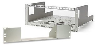 AIM-TTI_RM410 4U Rack Mount for QL PSUs, includes two 1/3 rack blanking plates