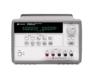Keysight E3634A DC power supply. Single output, dual range: 0-25V, 7A; 0-50V, 4A  160/200W. GPIB
