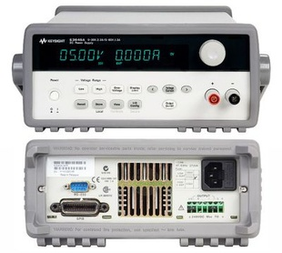 Keysight E3643A DC power supply, dual range: 0-35V/ 1.4 A and 0-60V/ 0.8 A, 50 W. GPIB, RS-232