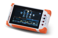 GW Instek_GDS-220 200MHz, 2-Channel, Full Touch Panel, Digital Storage Oscilloscope