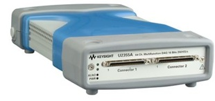 Keysight U2355A High performance multifunction DAQ, 64-CH single-ended or 32-CH differential analog inputs; 250KS/s;